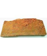 Golden Moss Agate Gemstone Slab Cabbing Rough - $4.60