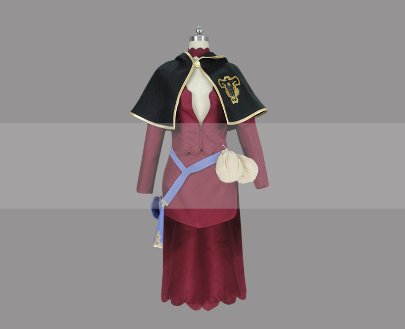 Black clover vanessa enoteca cosplay costume for sale