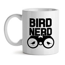 Bird Nerd - Mad Over Mugs - Inspirational Unique Popular Office Tea Coffee Mug G - $20.53