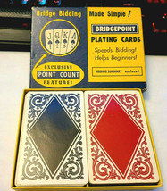 Bridge Bidding BridgePoint Double Deck Playing Cards image 2