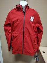New Adidas Mens Team Issue Jacket Full Zip N.C. State Wolfpack SZ Medium BV8053 - $28.50