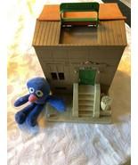 1979 Sesame Street Doll House & Plush Grover Doll - $59.79