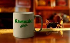 Kawasaki Ninja Motor Bike Custom Made Coffee Tea Mug Perfect Gift For Fr... - $12.41