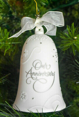 Hallmark: Anniversary Celebration - No CHARMS - Porcelain - NO DATE ON BELL image 2