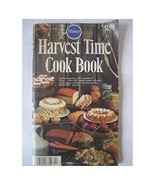 Harvest Time Cook Book Celebrate Autumn With a Carnival of Colors 100 Cr... - $22.49