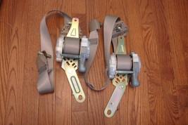2003 Nissan Altima Oem Front Driver Lh Passenger Rh Seat Belts Retractor Taupe - $129.99