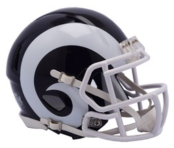 Los Angeles Rams Helmet Riddell Pocket Pro Speed Style**Free Shipping** - $12.80