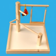 "bird play gym with 14"" base for cockatiels,love birds,conures,senegals,4... - £16.83 GBP"