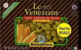Le Veneziane - Italian Pipe Rigate Pasta [Gluten-Free], (6)- 8.8 oz. Pkgs - $25.49