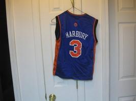 Ny Knicks Stephon Marbury Youth Road Jersey(M 10/12) - $8.99