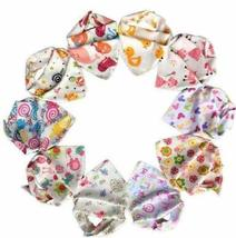 10-pack Baby Girls Bandana Drool Bibs& 1 FREE Baby Washcloth GIFT, Absor... - $19.59