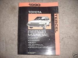 1990 Toyota Tercel Servicio Tienda Reparación Manual Fábrica OEM 1990 Libro - $24.84
