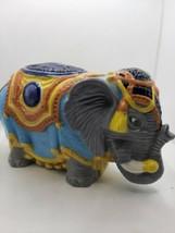Vintage Ceramic Circus Elephant - $18.79