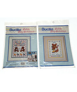 Bucilla Cross Stitch Kit Lot ABC/123 Bunny Alphabet Bears Sampler New Se... - $24.63