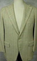 PRISTINE Vintage Ralph Lauren Polo Silk With Pink & Green Sport Coat 40R - $52.49