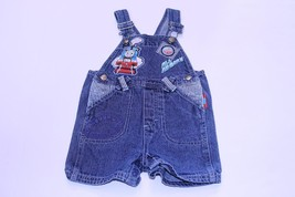 Infant/Baby Thomas The Train 12 Months Bibs Shorts Overalls Jeans - $14.01