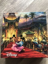 Disney-Mickey And Minnie In Hollywood Red Carpet 750 Piece Puzzle. Pre O... - $6.95