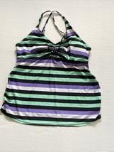Maternity Swimsuit Pregnancy Swimwear Beachwear Swimming Tankini Sz M - $13.99