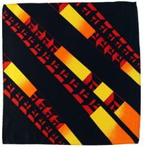 100% Silk Men's Pocket Square Handkerchief Fashion Illusion Designer Bla... - $17.95