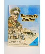 Rommel's Battles Scenarios for Clash of Armor Rules System: COA 1996 Unp... - $60.50