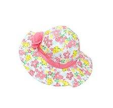 (Jacinth Flower) Cotton Comfortable Ventilate Pure Children Cap/Bucket Hat image 2
