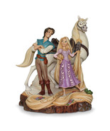 Non Metal Disney Traditions Tangled Rapunzel/Flynn Rider/Maximus Figurin... - $89.32