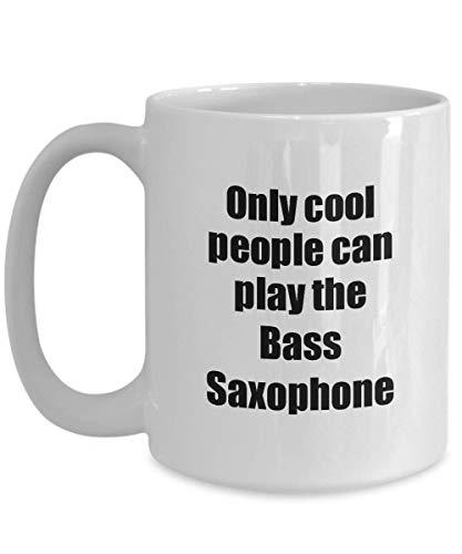 Primary image for Bass Saxophone Player Mug Musician Funny Gift Idea Gag Coffee Tea Cup 15 oz