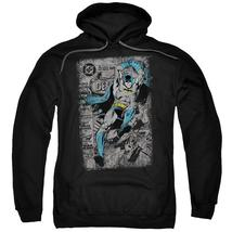 Batman - Detective #487 Distress Adult Pull Over Hoodie Officially Licensed Appa - $36.99+