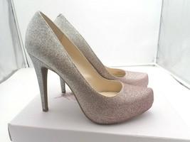 Jessica Simpson Women's PARISAH Shoe Rose Ombre Micro Glitter size 9 M - $28.50