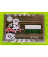 NFL BILAL POWELL NEW YORK JETS 2012 PANINI ROOKIE TWO COLOR JERSEY SP 15... - £2.76 GBP