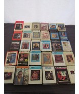 8-Track Lot 30 Country Owens Lynn Pride Twitty Parton Wagoner Gilley Van... - $24.84