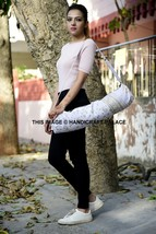 Indian Cotton Gym Sports Yoga Mat Carrying Cross Body Bag Unisex Mandala... - $316,14 MXN