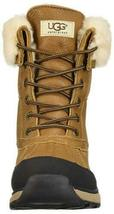 New Women's UGG Adirondack III Chestnut Waterproof Shearling Wool Boots US 10 image 3