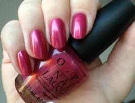 OPI Australia DIDGERIDOO YOUR NAILS? Rose Pink Shimmer Nail Polish Lacqu... - $12.21