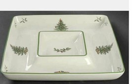 1-Piece Square Chip and Dip Christmas Tree (Green Trim) by SPODE 12 1/4 in - $17.75