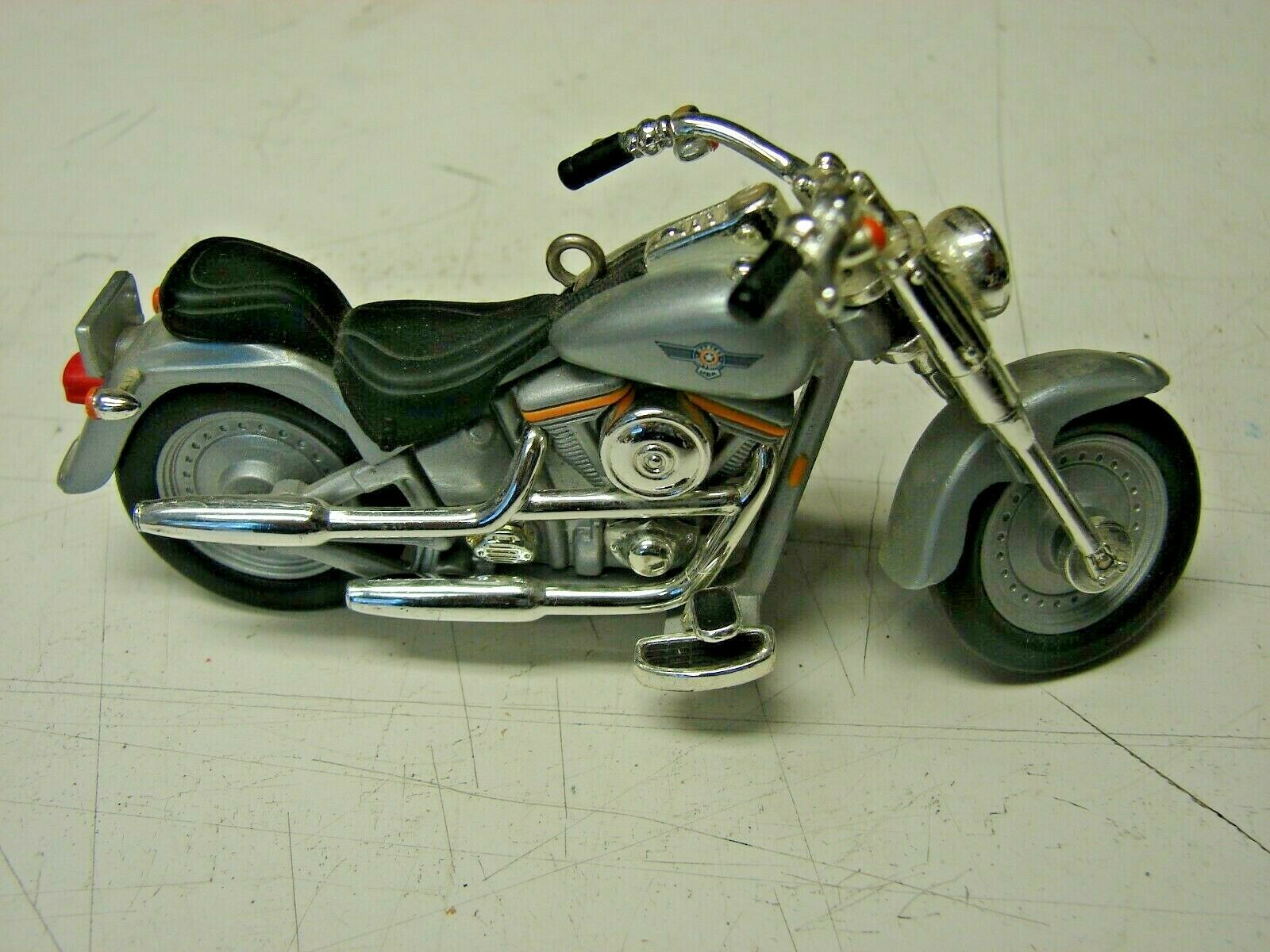 Harley-Davidson FLSTF FATBOY 1990 Motorcycle Model 4 inches long image 2