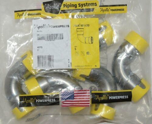 Apollo Powerpress PWR7484130 1Inch Press Carbon Steel 90 Degree Elbow HNBR Bag 5