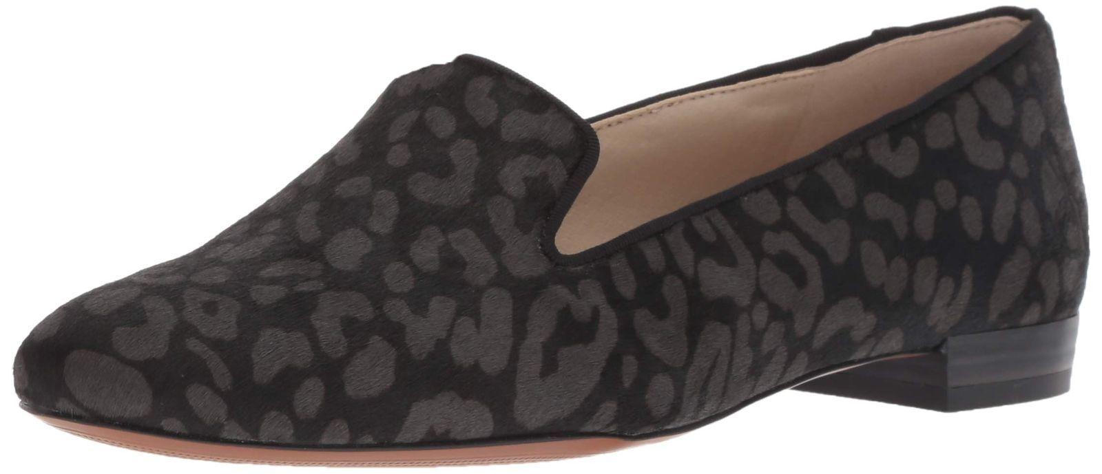 004591e358f Sam Edelman Women s Jordy Loafer Black Grey Cheetah 10 M US -  83.84