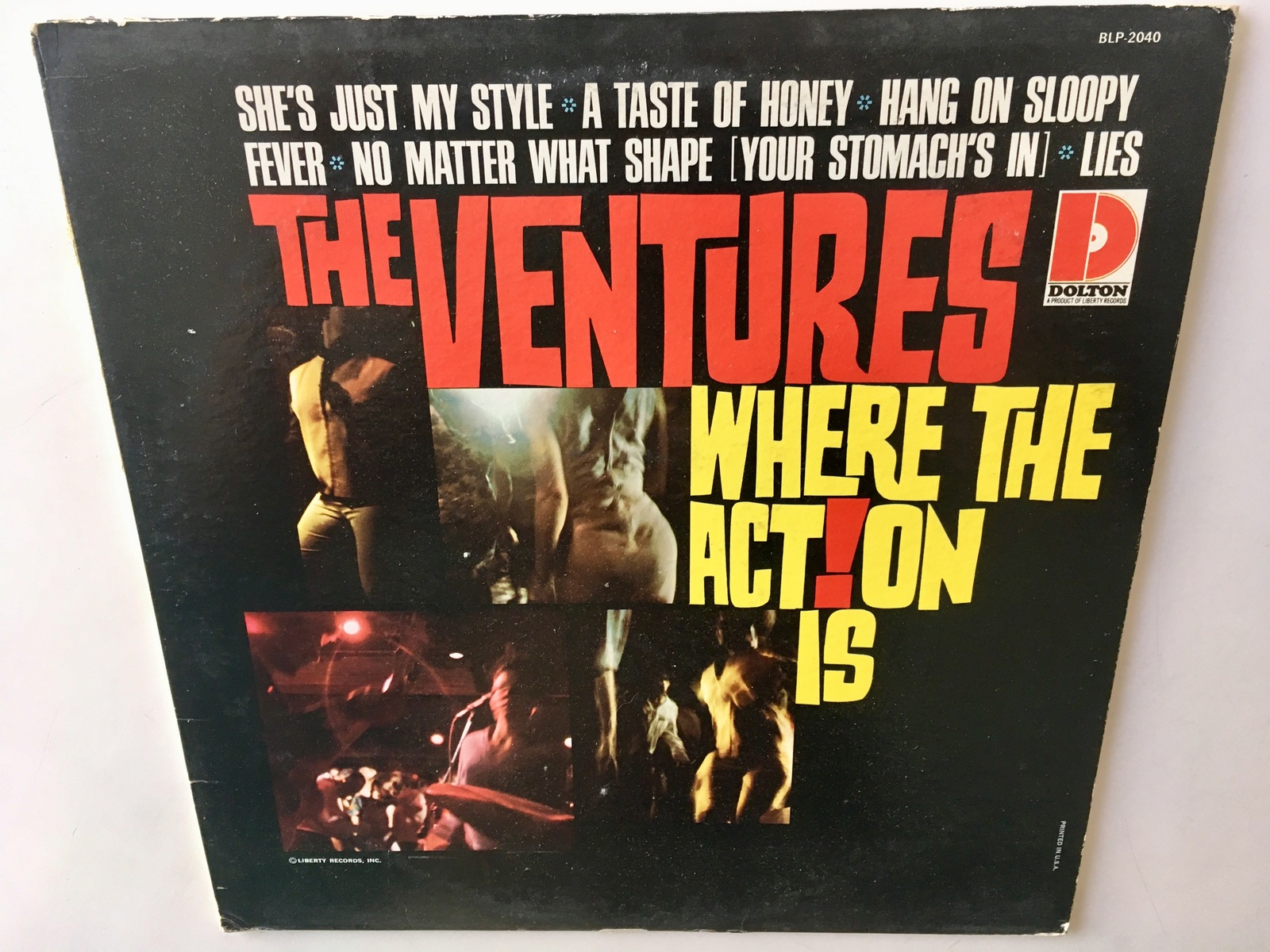 The Ventures - Where The Action Is LP Vinyl Record Album, Dolton Records