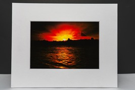 photograph of the river silhouette during the sunset.  - $12.00
