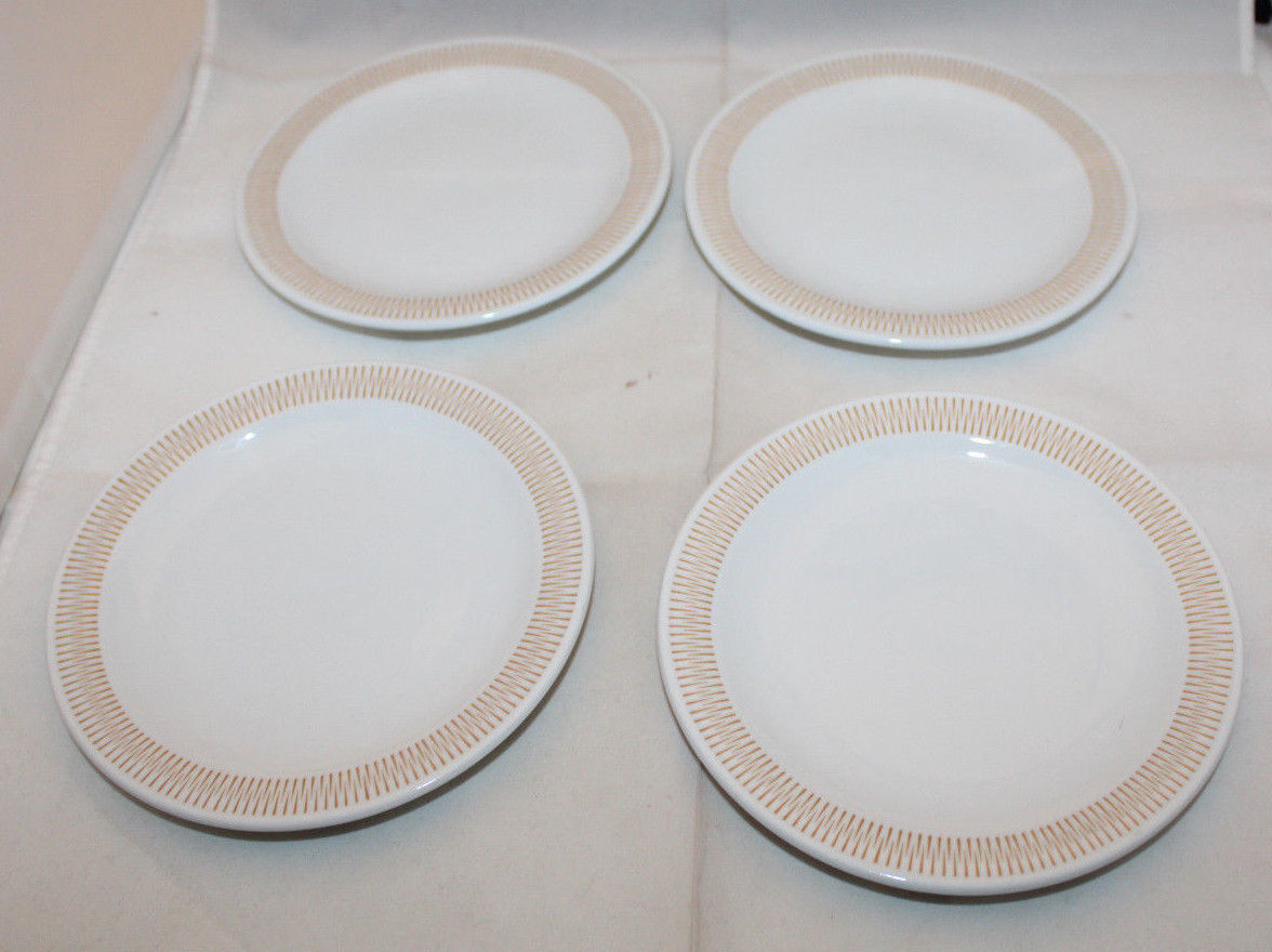 "Primary image for Rosenthal Studio-Linie White 4 Bread & Butter Plate Set 15cm 5 7/8"" Germany (B"