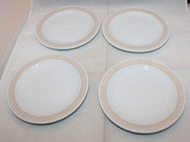 "Rosenthal Studio-Linie White 4 Bread & Butter Plate Set 15cm 5 7/8"" Germany (B - $63.21"