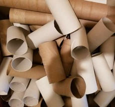 100 Empty Toilet Paper Roll Tubes Clean School Craft Camping - $14.01