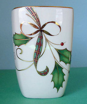 Lenox Holiday Nouveau Gold Bathroom Tumbler Cup... - $20.70