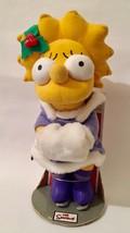 "Christmas Holiday Lisa Simpson w/ Ice Skates by  Applause Tag 14"" Tall - $69.29"