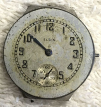 Elgin 1924 6/0 Size Grade 430 Pocket Watch Movement Parts/restore Only - $18.97