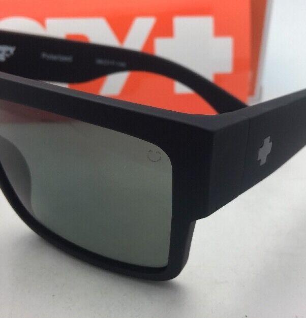 Polarisiert Spy Optic Sonnenbrille Cyrus Weich Matt Schwarz Rahmen W / Happy image 8