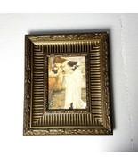 Framed Print John Waterhouse The Shrine Antiqued Gold Wood Frame Art - $34.64