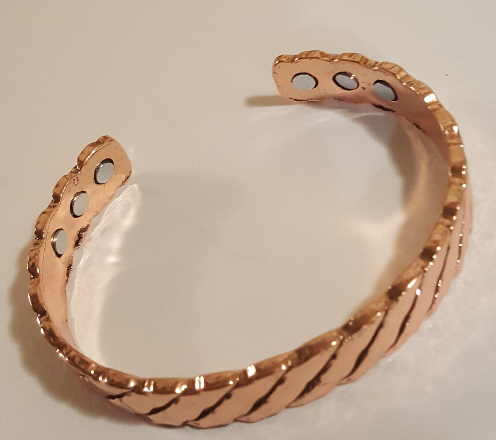 Copper Magnet Holistic Pain Relief Cuff Bracelet