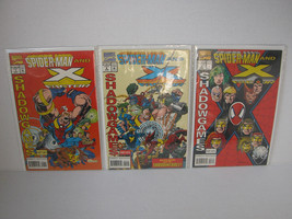 SPIDER-MAN AND X- FACTOR - FULL SET 1 - 3 - FREE SHIPPING! - $14.03